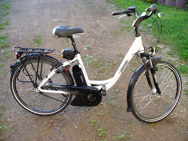 Bicicleta-Electrica-Blanca