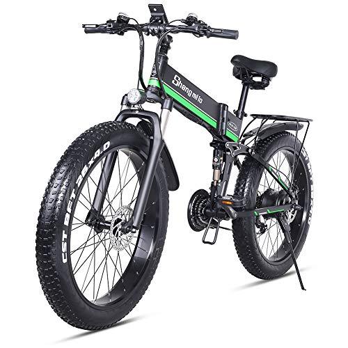 Fat Bike Eléctrica Shengmilo