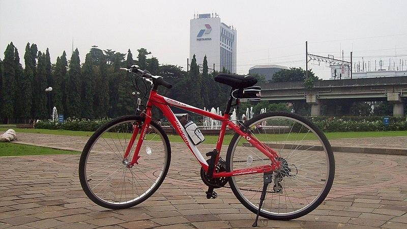 Bici-urbana-roja