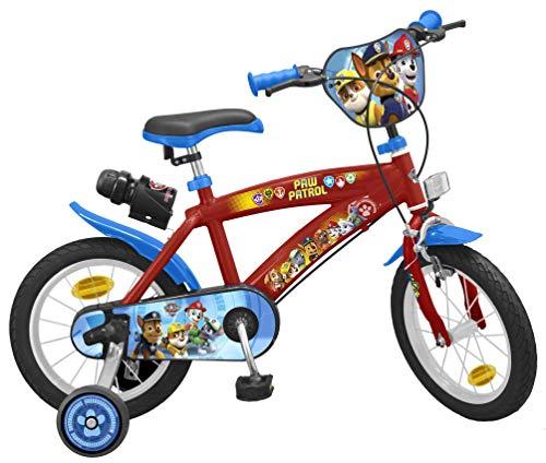 Bicicleta Paw Patrol
