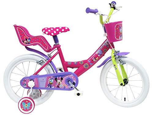 Bicicleta para niña rosada