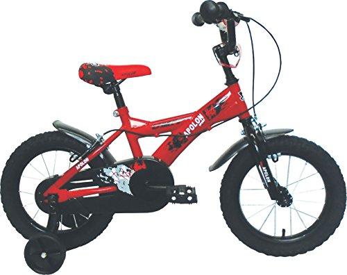 Bicicleta para niños en color rojo UMIT J1450