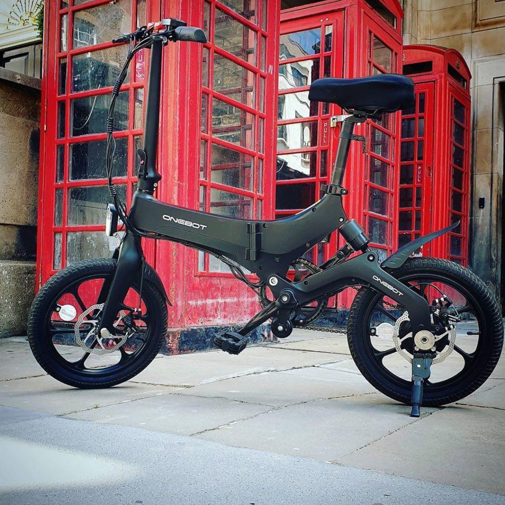 Bicicleta-plegable-con-amortiguador
