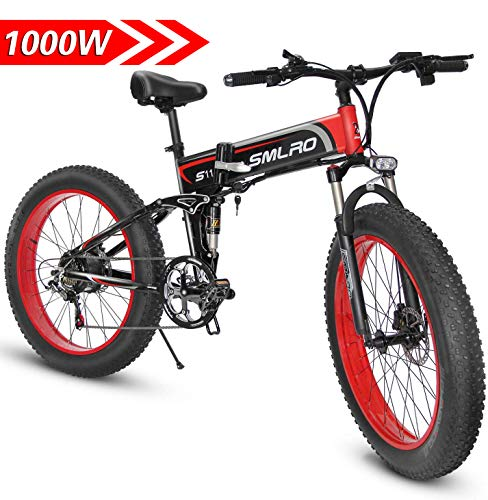 Components of an electric mountain bike