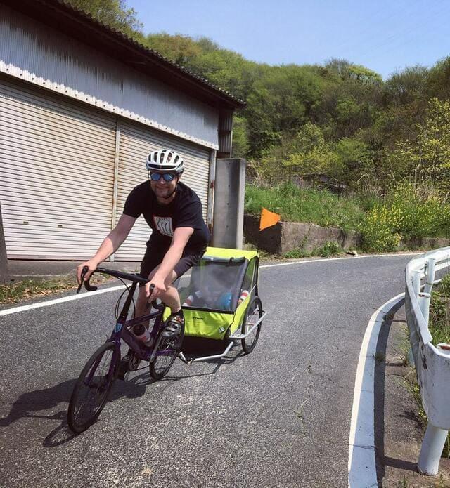 Descenso-con-bici-y-trailer