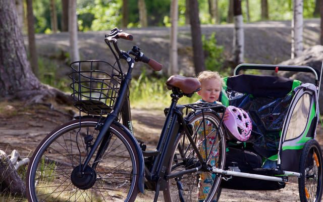 El-mejor-remolque-de-bicicleta-para-niños