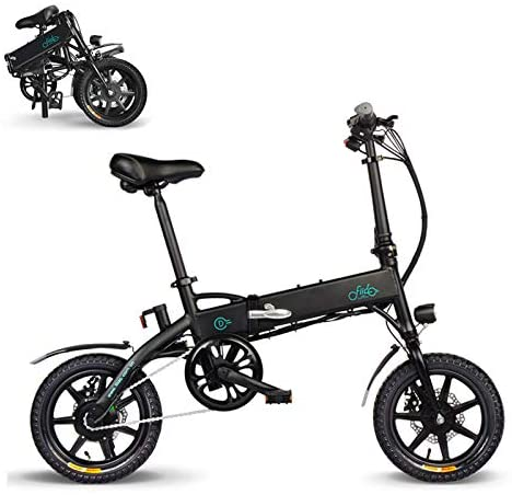 FIIDO Bicicleta eléctrica plegable