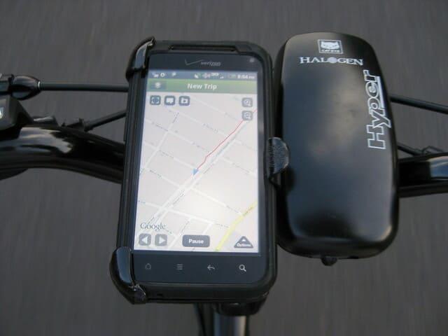 Movil-sobre-bicicleta