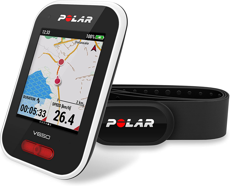 Polar V650 HR - Ciclocomputador con GPS